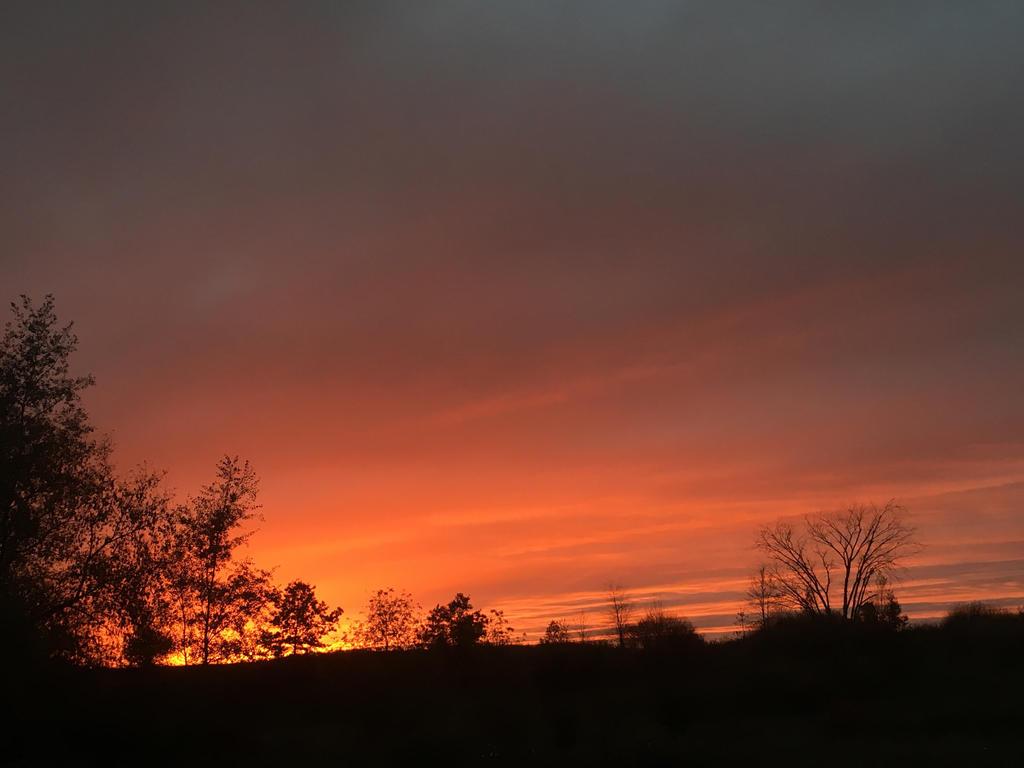 October Sunset  by roxasroxs