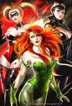 DC Girls Repaint Poster