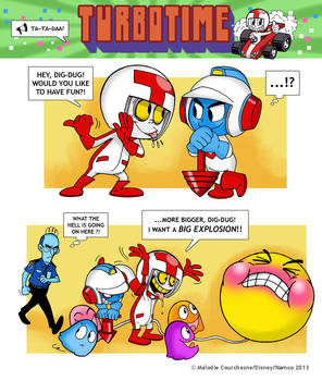 Turbo and Dig-Dug! by Turbotastique