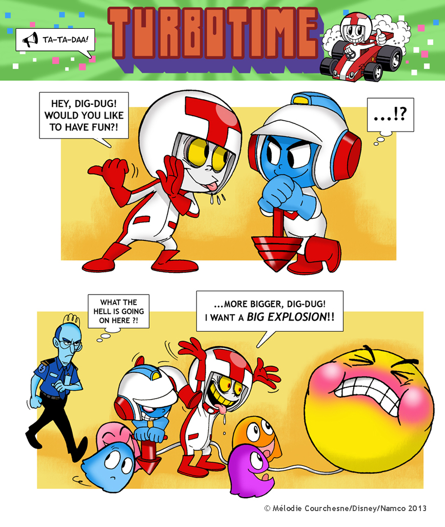 turbo_and_dig_dug__by_turbotastique d6uskj0 king candy vs angry birds! by turbotastique on deviantart