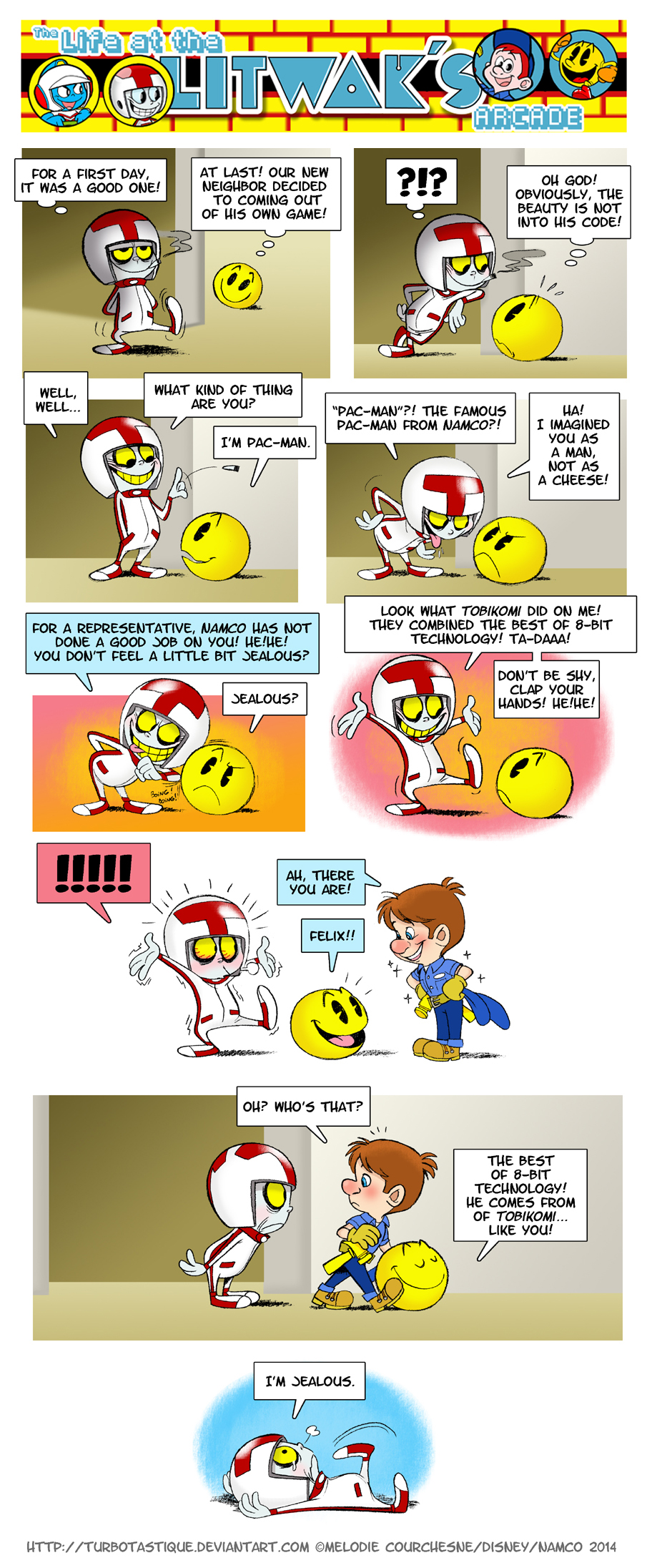 The first time when Pac-Man met Turbo! by Turbotastique
