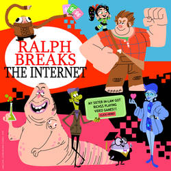 Ralph breaks the Internet by Turbotastique