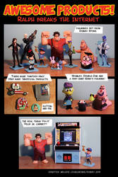 Ralph breaks the internet collection! by Turbotastique
