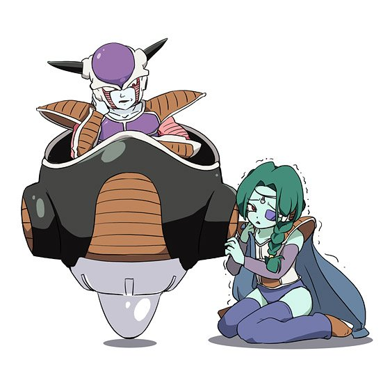 Frieza and Zarbon by Furiza-Chan on DeviantArt