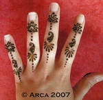 simple asha henna