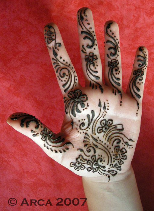 asha palm henna