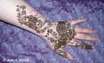 kiran henna flower