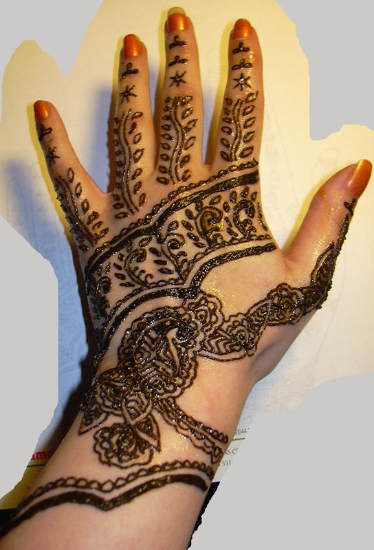 Henna Designs For Hands Picture 10