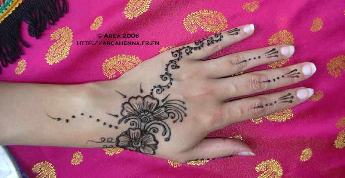 bellydance henna