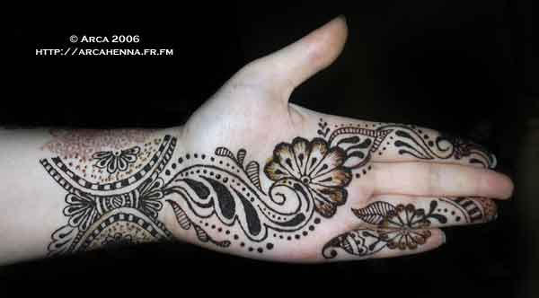 arabic henna by arcanoide