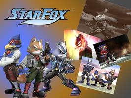 Star Fox Wallpaper -SSBB- by ShadowSmasher