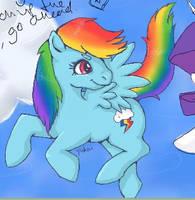 Preview - MLP Rainbow Dash by Yukai-Kasumi