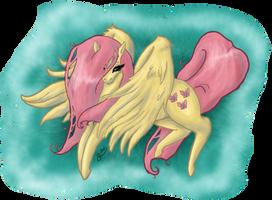 MLP - FLuttershy2 by Yukai-Kasumi