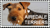 Airedale Terrier Stamp by NorthernFoxRanch
