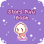 P2U: Stars Mini Base Pixel by racheru-tan