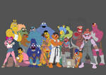 Sesame Street Fighter WIP