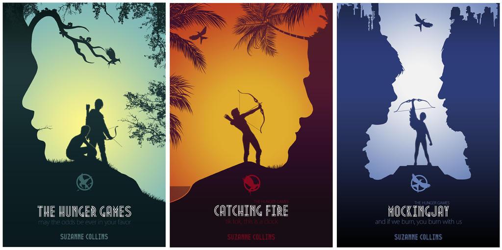 Hunger Games Books Cover by sanjota on DeviantArt