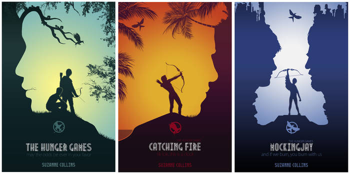 Hunger Games Books Cover
