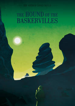 -The hound of Baskervilles- Book cover