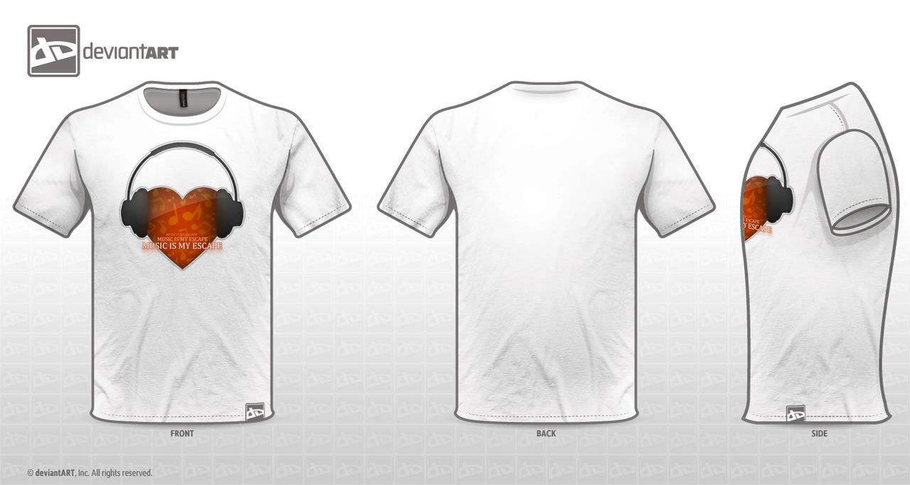 Musically Inspired T-Shirt Ver. 02