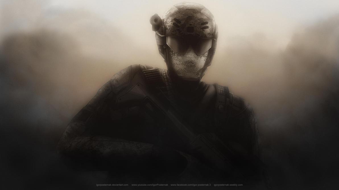 Soldier by IgorPosternak