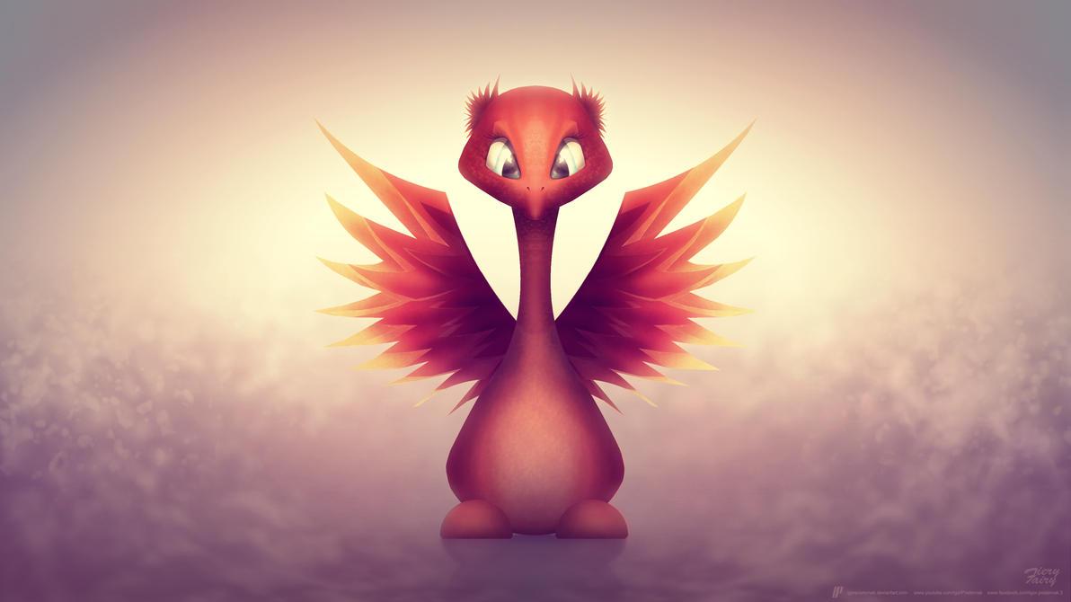 Fiery Fairy by IgorPosternak
