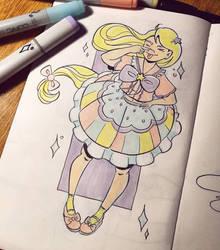 Pastel Girl by danamucci