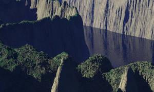 Weird waterworld ridge