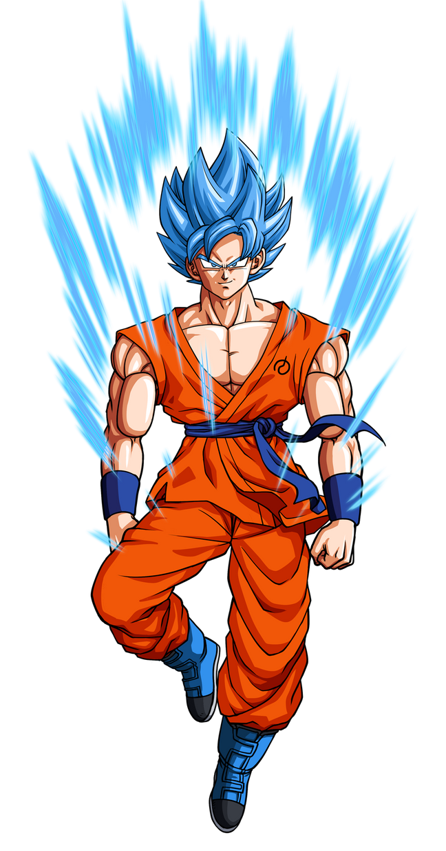 Dragon Ball Z Revival of F - New God Songoku by oume12