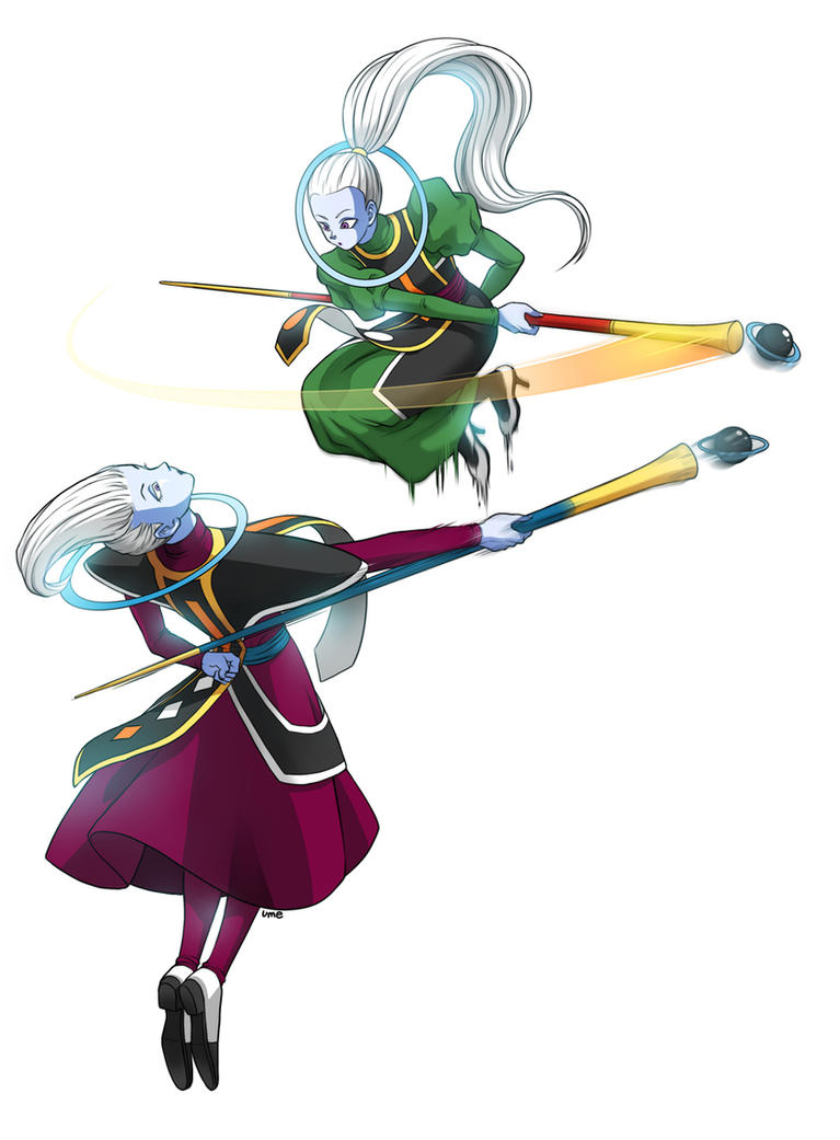 whis and Vados by oume12