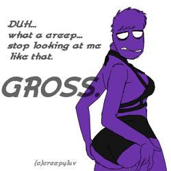 purple guy by creepyluv