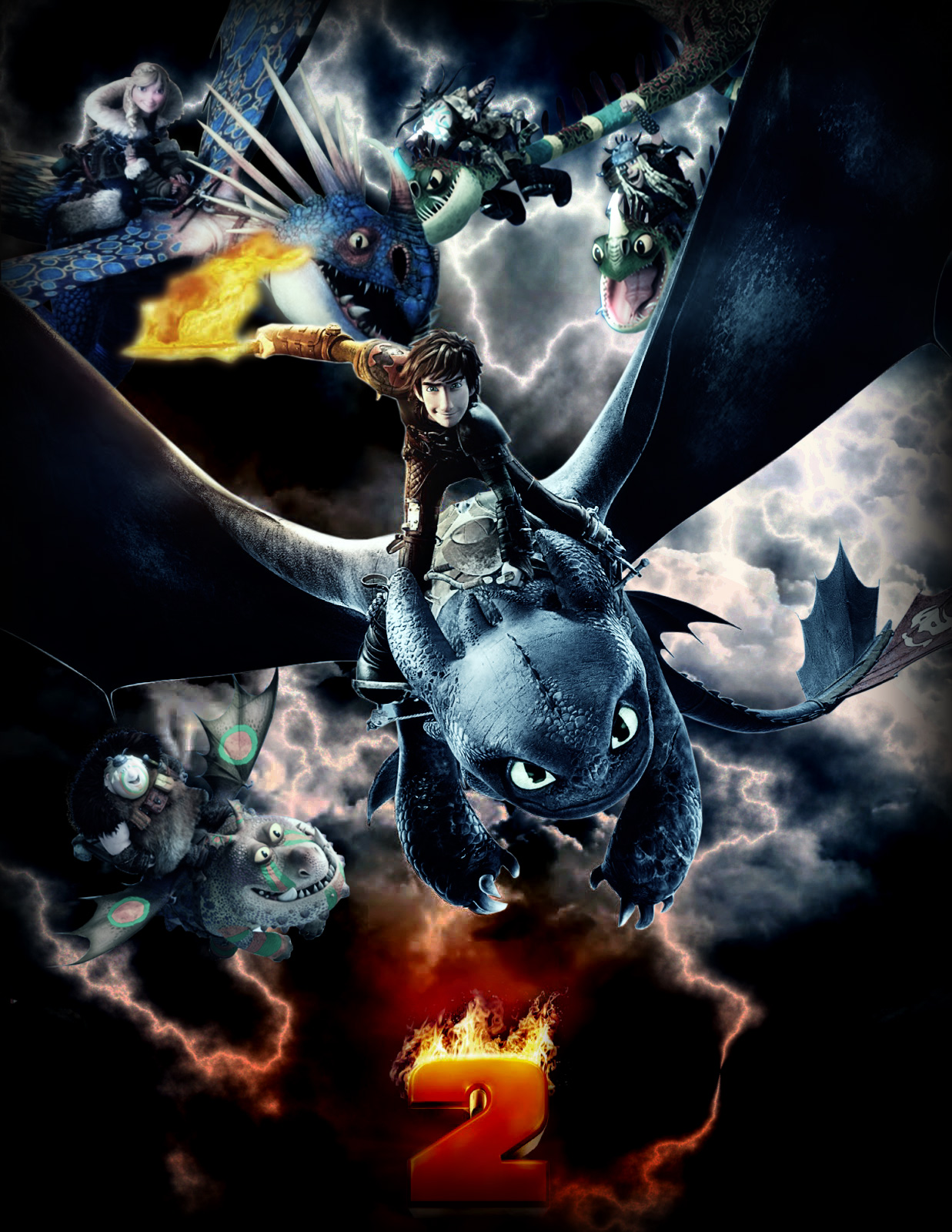 how to train your dragon poster storm by faretis on deviantart