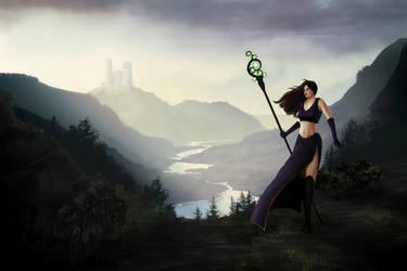 Sorceress by Jizba