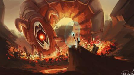 Fireworm by Jizba
