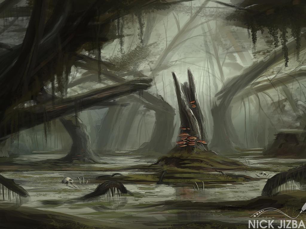 Rotten Stump by Jizba