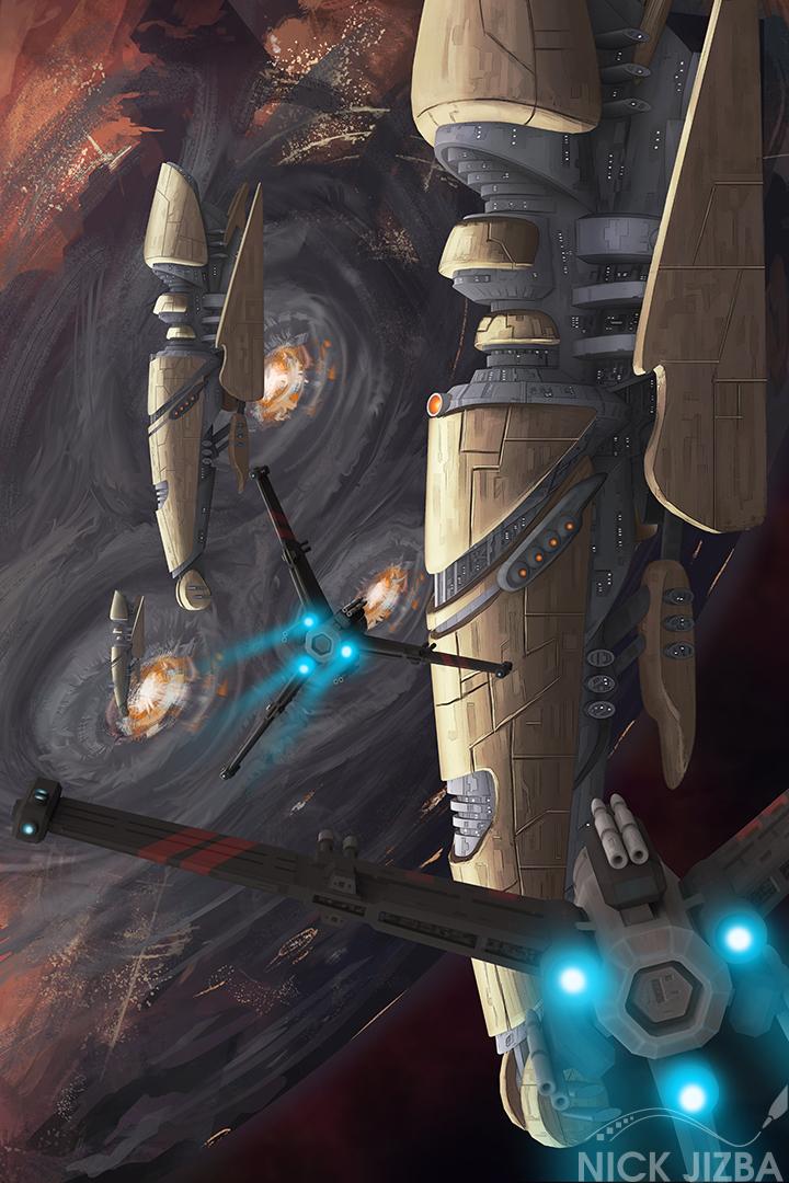 Orbital Bombardment by Jizba