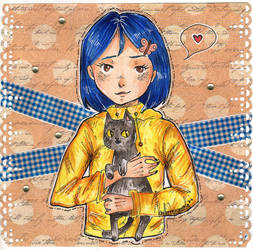 Coraline from 2o15 by Sinelapka-A
