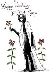 Snape: Gorey style by yukipon