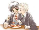 My breakfast : Draco x Harry
