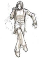 Rough: Snape by yukipon