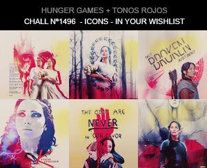 Icons - Hunger Games by aidakuku