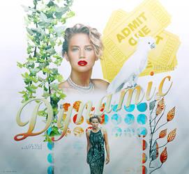 Jennifer Lawrence - Blend by aidakuku