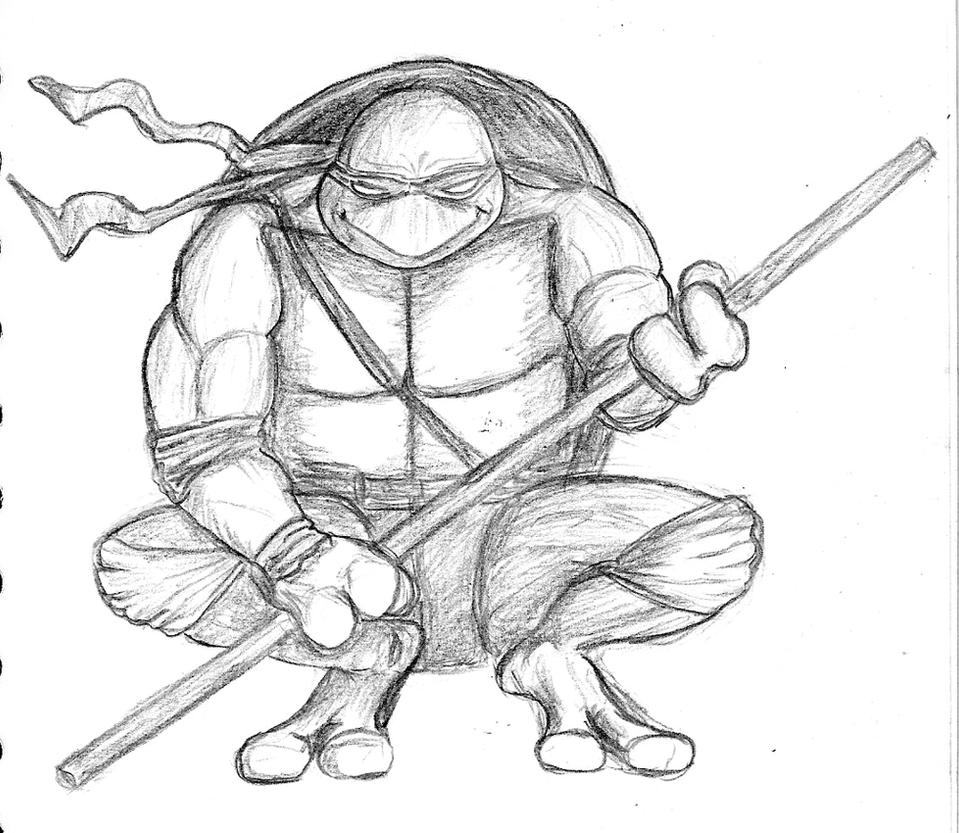 Donatello fan art by gonzalexx1 on DeviantArt
