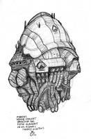Mondoshawan spaceship concept by Moebius by gonzalexx1