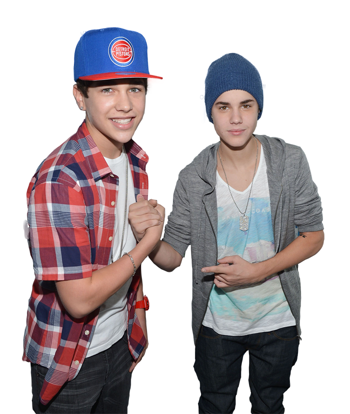 Austin Mahone ft Justin Bieber png by Bestouthearted ...