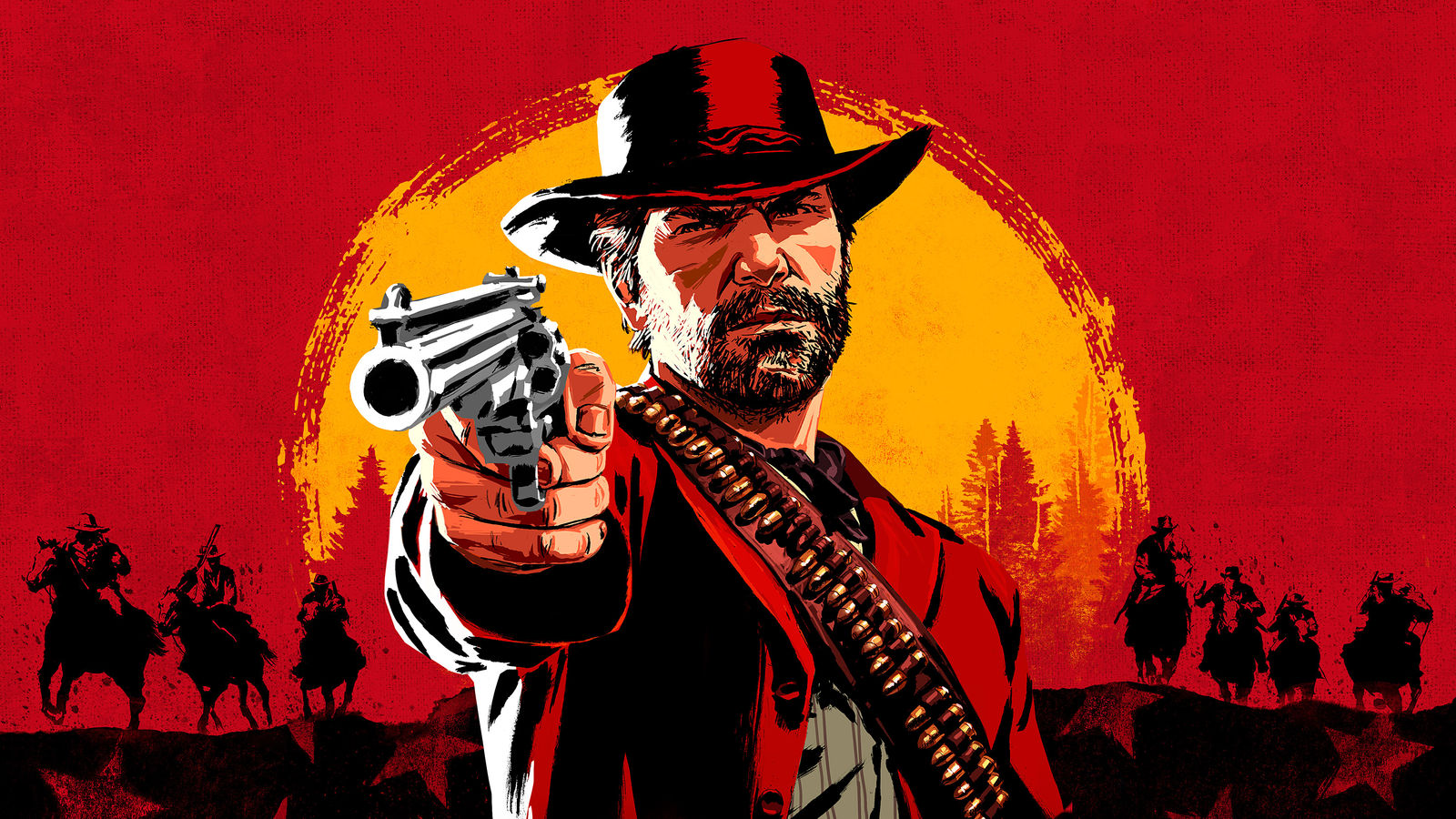Red Dead Redemption 2 Wallpaper By 3demerzel On Deviantart