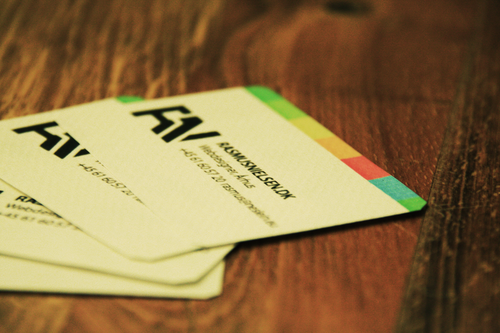 Businesscard for the fun of it by Soundy