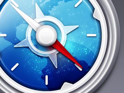 Safari icon WIP by Soundy