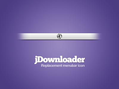 jDownload menubar replacement by Soundy