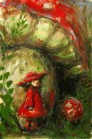 Mushrooms. by tree-spirit